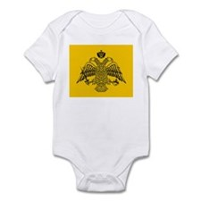 Greek Orthodox Church Flag Infant Bodysuit