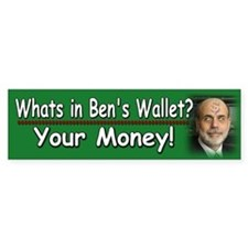 What's in Ben's wallet?