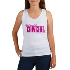 Genuine Cowgirl Women's Tank Top
