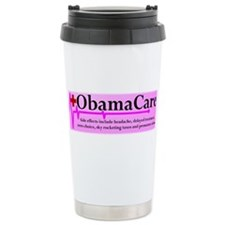 ObamaCare - Side Effects Ceramic Travel Mug