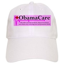 ObamaCare - Side Effects Baseball Cap