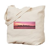 SF Bay Sunrise Tote Bag
