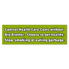 Big Brother Health Care Bumper Bumper Sticker