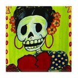 Frida Tile Coaster