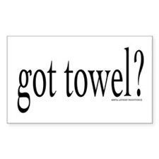 got towel? Decal