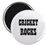 CRICKET ROCKS 2.25&quot; Magnet (10 pack)
