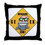 Geek Throw Pillow