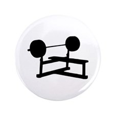 "Weightlifting 3.5"" Button (100 pack)"