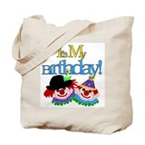 Clown Birthday Tote Bag