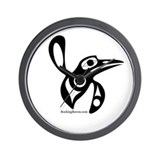 Haida Hummingbird Wall Clock