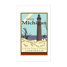 Travel Michigan Rectangle Decal