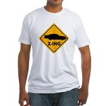 Stock Car X-ing Fitted T-Shirt