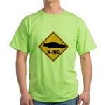 Stock Car X-ing Green T-Shirt