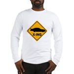 Stock Car X-ing Long Sleeve T-Shirt