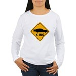 Stock Car X-ing Women's Long Sleeve T-Shirt