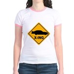 Stock Car X-ing Jr. Ringer T-Shirt