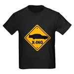 Stock Car X-ing Kids Dark T-Shirt