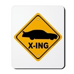 Stock Car X-ing Mousepad