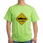 Race Car X-ing Green T-Shirt
