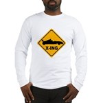 Race Car X-ing Long Sleeve T-Shirt