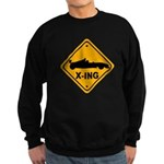 Race Car X-ing Sweatshirt (dark)