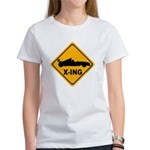 Race Car X-ing Women's T-Shirt