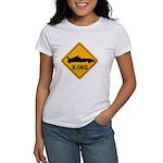 Race Car X-ing Women's T-Shirt