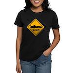 Race Car X-ing Women's Dark T-Shirt