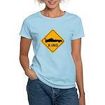 Race Car X-ing Women's Light T-Shirt
