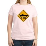 Race Car X-ing Women's Light T-Shirt