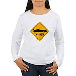 Race Car X-ing Women's Long Sleeve T-Shirt