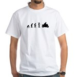 Motorcycle Evolution White T-Shirt