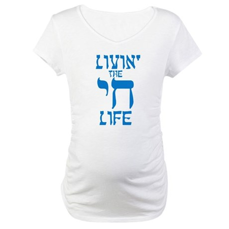 Livin' The Chai Life Maternity T-Shirt