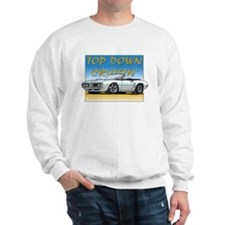 White Firebird Convt Sweatshirt