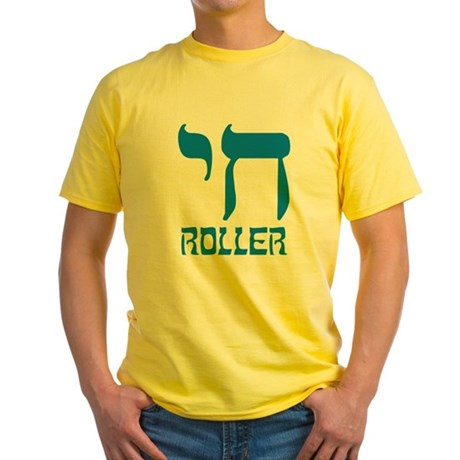 Chai Roller Yellow T-Shirt