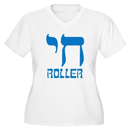 Chai Roller Plus Size V-Neck Shirt