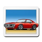 Red 67-68 Firebird Mousepad