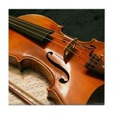 Violin Concerto Tile Coaster