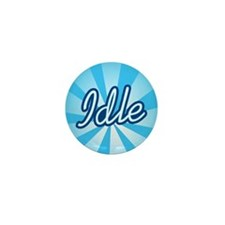 Idle Mini Button (10 pack)