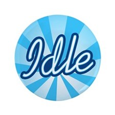 "Idle 3.5"" Button (100 pack)"