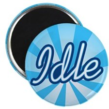 "Idle 2.25"" Magnet (10 pack)"