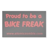 "Bike Freak (Rectangle 50 pk) 3"" x 5"""