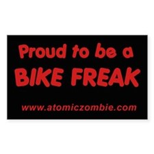 "Bike Freak (Rectangle 10 pk) 3"" x 5"""