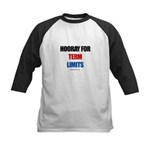 Hooray for Term Limits -  Kids Baseball Jersey