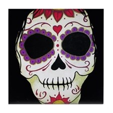 Day of the Dead Banshee Tile Coaster