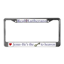 Jesus is the Key to Heaven License Plate Frame