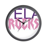 Funny Art teachers rock Wall Clock
