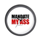 Mandate my ass ~  Wall Clock