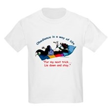 Obedience is a way of life T-Shirt