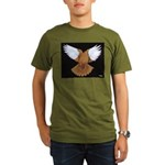 Flying Flight Organic Men's T-Shirt (dark)